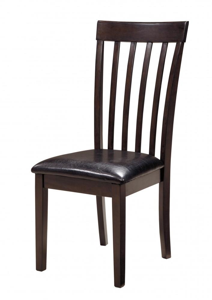 2017 Hammis – Dark Brown – Upholstered Side Chair (2/cn) (View 1 of 20)