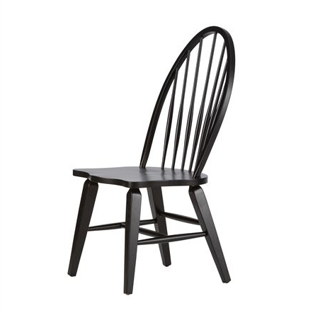 2017 Hayden Ii Black Side Chairs With Chairs (View 1 of 20)