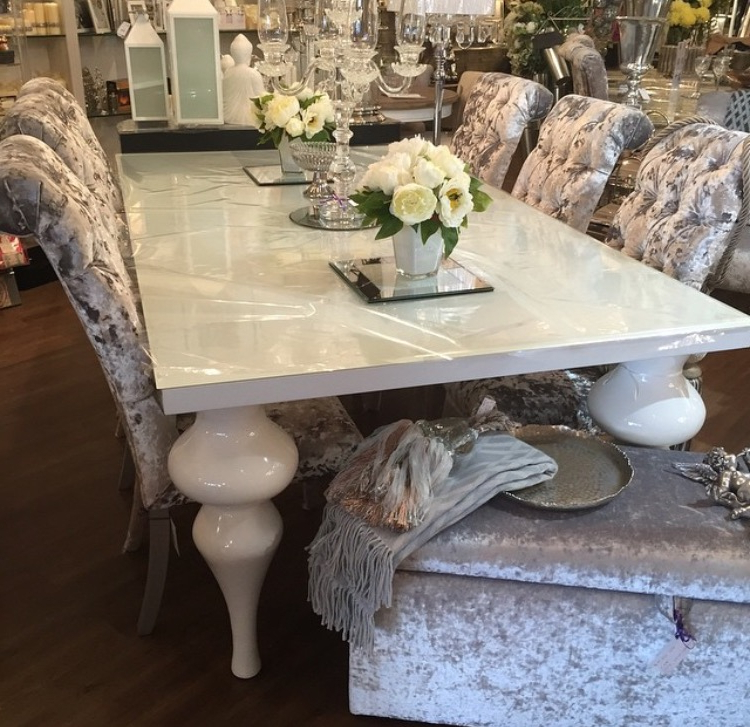 2017 High Gloss Dining Room Furniture – Domainmichael Pertaining To White High Gloss Dining Chairs (View 1 of 20)