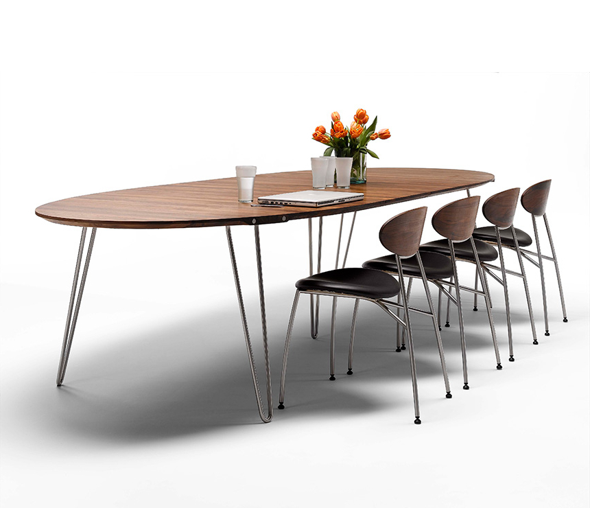 2017 Luxury Danish Modern Dining Tables – Wharfside Throughout Danish Dining Tables (Gallery 5 of 20)