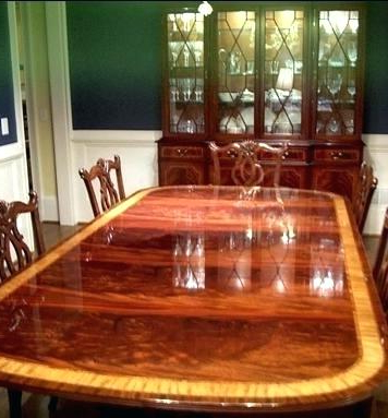 2017 Mahogany Dining Tables Sets In High End Dining Room Set – Storiesdesk (Gallery 16 of 20)