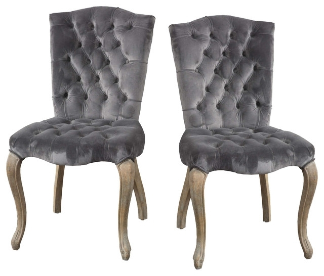 Featured Photo of Charcoal Dining Chairs