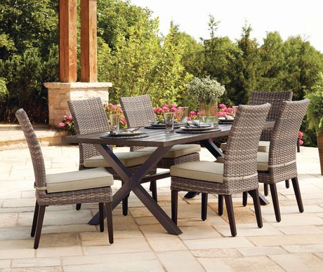 2017 Monaco Dining Sets Regarding Hometrends Monaco 7 Piece Dining Set (View 6 of 20)