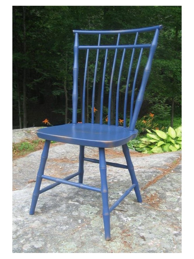 2017 Nautical Blue Side Chairs Pertaining To Cottage Dining Chairs (View 15 of 20)