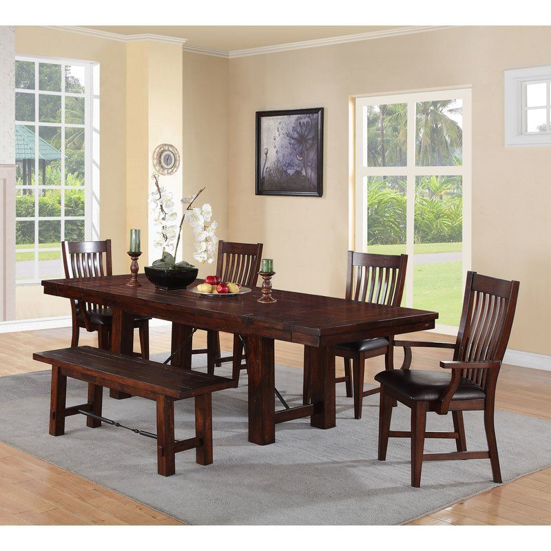 2017 Norwood 6 Piece Rectangle Extension Dining Sets Regarding Seiling Dining Table (View 5 of 20)