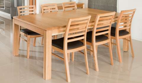 2017 Oak Dining Suite With Regard To Attra Oak Dining – Furniture Ranges – Browsecategory – Sorensen (View 10 of 20)