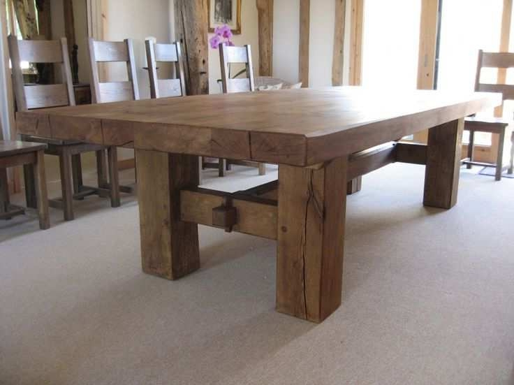 2017 Oak Dining Tables Throughout Dining Sets Interesting Medium Oak Dining Table And Chairs High Oak (View 1 of 20)