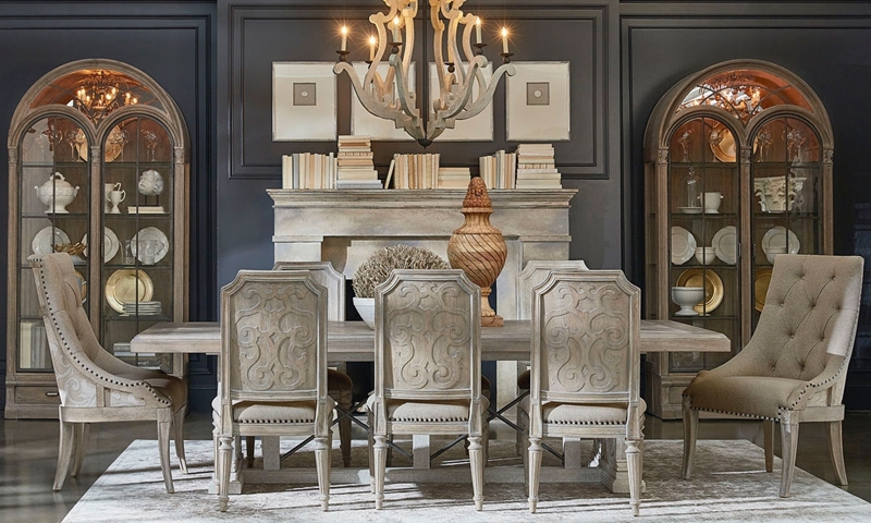 2017 Parquet 7 Piece Dining Sets Intended For A.r.t. Architectural Salvage 7 Piece Dining Set (Gallery 8 of 20)