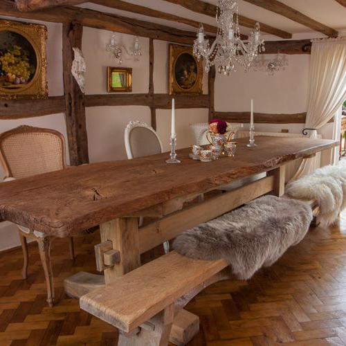 2017 Portwoodstuio's Rustic Oak Dining Table, The Good Girls Oak With Regard To Rustic Oak Dining Tables (Gallery 7 of 20)