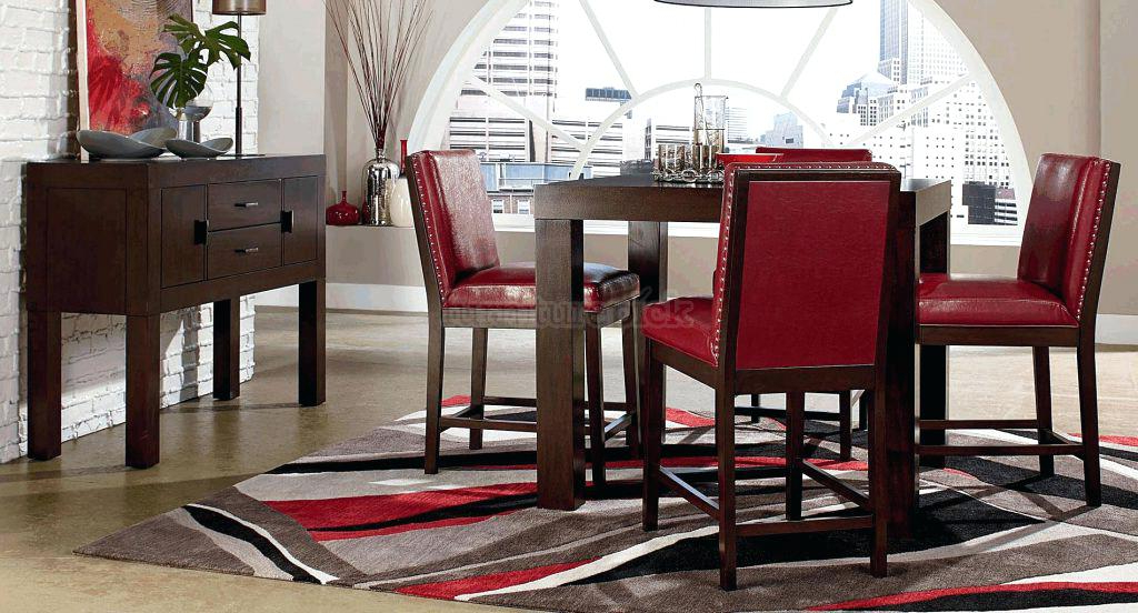 2017 Red Dining Table And Chairs Dining Room Chair Red Dining Table Set Pertaining To Red Dining Table Sets (View 1 of 20)