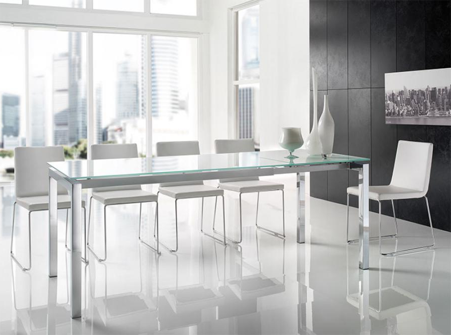 2017 Smoked Glass Dining Tables And Chairs Regarding 24 Surprisingly Modern Dining Table And Chairs Uk – Sfconfelca Homes (Gallery 14 of 20)