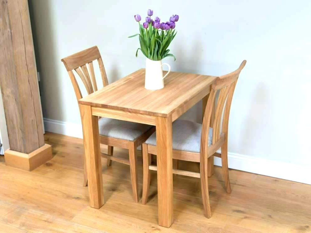 2017 Two Seater Dining Tables And Chairs Regarding Two Chair Dining Table Two Seat Kitchen Tables Two Table Two Dining (Gallery 9 of 20)
