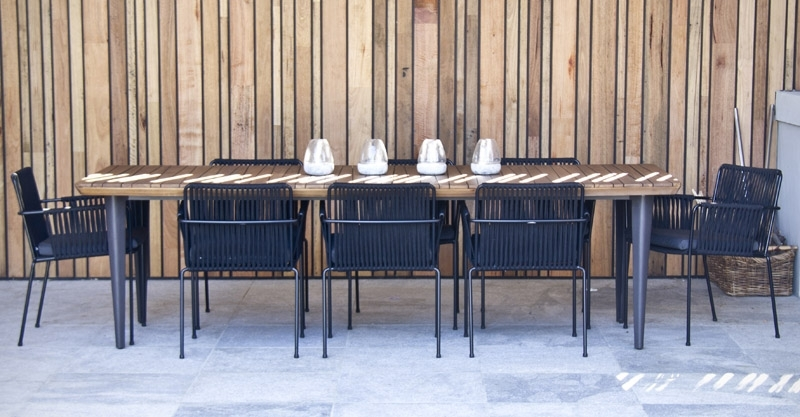 2017 Vespa Rope Armchair Outdoor Dining Chair Satara Within Vespa Side Chairs (View 17 of 20)