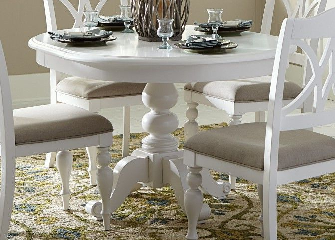 2017 White Circle Dining Tables Pertaining To Perfect For Our Next Home (View 1 of 20)