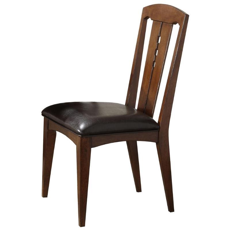 2018 2953 Riverside Furniture Craftsman Home Dining Room Side Chair Regarding Craftsman Side Chairs (View 7 of 20)