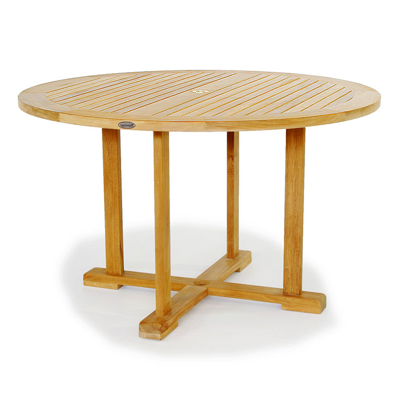 2018 48 In Round Teak Table (View 13 of 20)