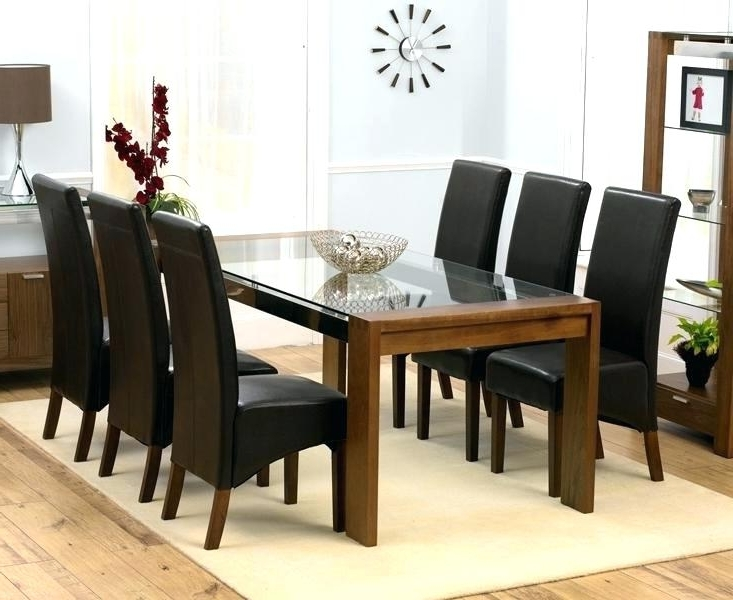 2018 6 Chair Round Dining Table Set – Castrophotos In 6 Chairs Dining Tables (View 14 of 20)