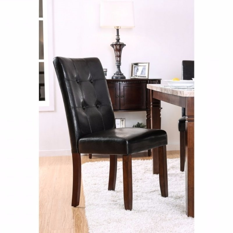 2018 Alcott Hill Cardwell Transitional Upholstered Side Chair (View 2 of 20)