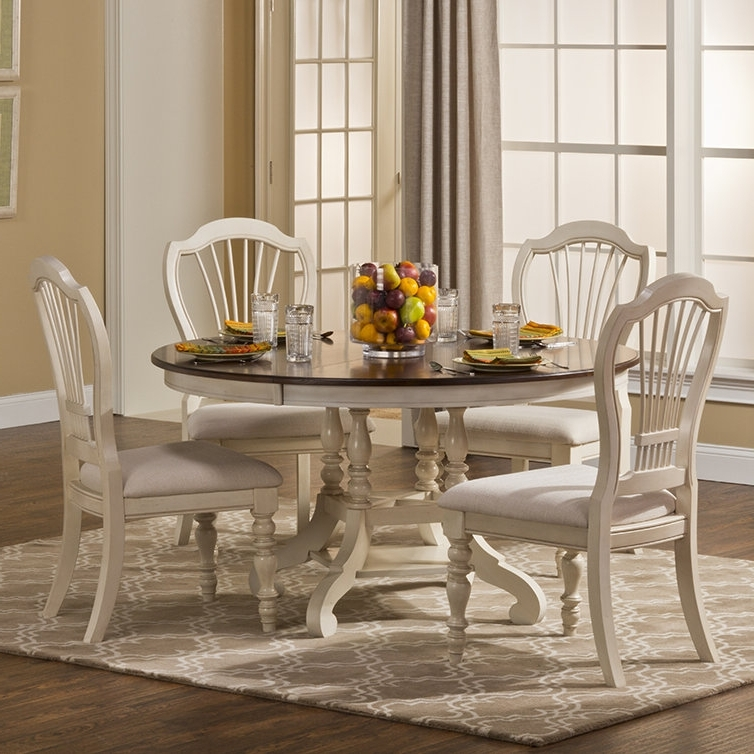 2018 Alise 5 Piece Dining Set (View 14 of 20)