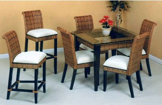 2018 Bali Rattan Dining Suite From Summit Design (View 8 of 20)