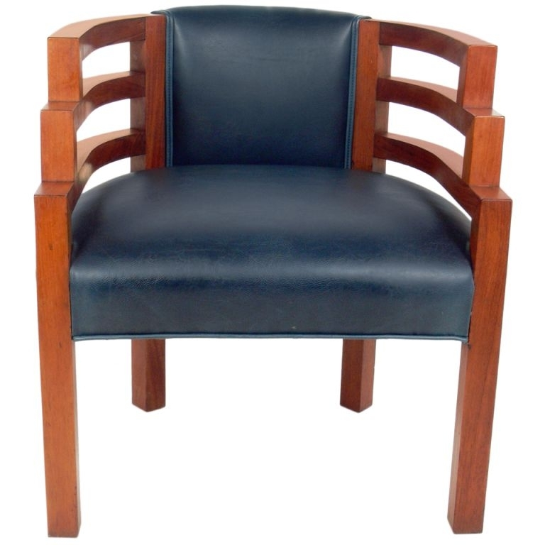 """2018 Biltmore Side Chairs Pertaining To Rare Art Deco """"biltmore"""" Lounge Chairk.e.m (View 8 of 20)"""
