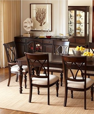 2018 Bradford Dining Room Furniture Collection Round With Four Chairs In Bradford Dining Tables (View 2 of 20)