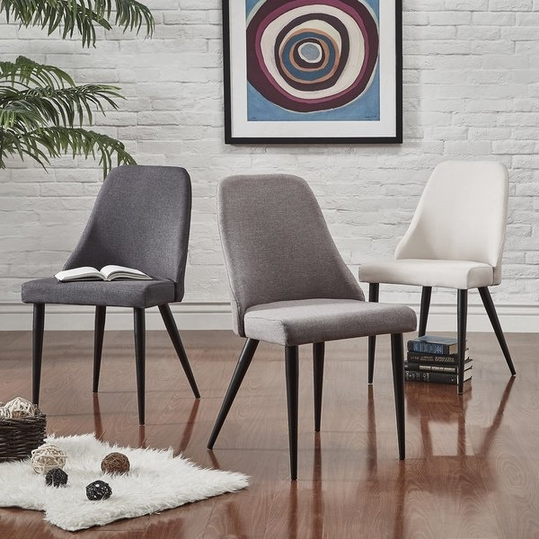 2018 Caden 6 Piece Dining Sets With Upholstered Side Chair Within Shop Cecelia Espresso Wingback Dining Chair (Set Of 2)Inspire Q (View 1 of 20)