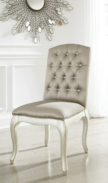 2018 Caira Upholstered Diamond Back Side Chairs Within Cassimore – Pearl Silver – Upholstered Chair (1/cn) (View 2 of 20)