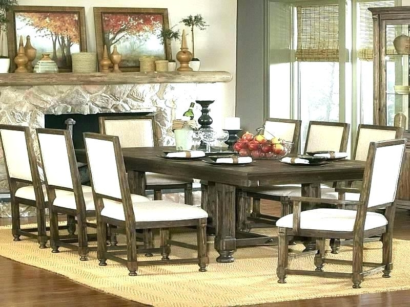 2018 Chapleau Ii 9 Piece Extension Dining Table Sets Inside Imágenes De 9 Piece Dining Room Sets Cheap (View 2 of 20)