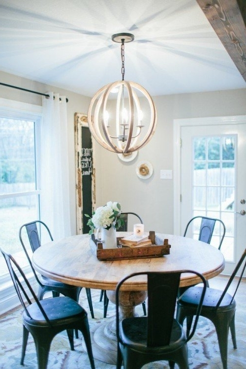 2018 Cheap Round Dining Tables Throughout Round Dining Tables: 8 Affordable Options (View 1 of 20)
