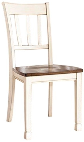 2018 Cheap Two Tone Dining Room, Find Two Tone Dining Room Deals On Line With Regard To Candice Ii 5 Piece Round Dining Sets With Slat Back Side Chairs (View 16 of 16)