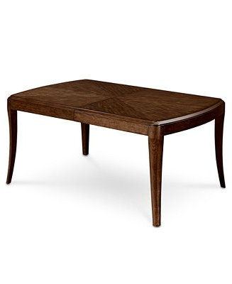 2018 Closeout! Delfina Expandable Leg Dining Table, Created For Macy's Regarding Delfina Dining Tables (View 3 of 20)