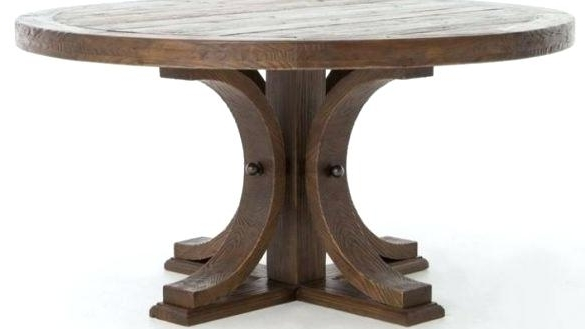 2018 Combs 48 Inch Extension Dining Tables Inside 48 Inch Dining Table Reclaimed Wood Amazing Inch Round Pedestal (View 10 of 20)