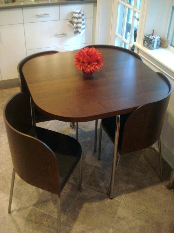 2018 Compact Dining Room Sets For Dining Furniture For Small Spaces View In Gallery Expandable Dining (View 2 of 20)