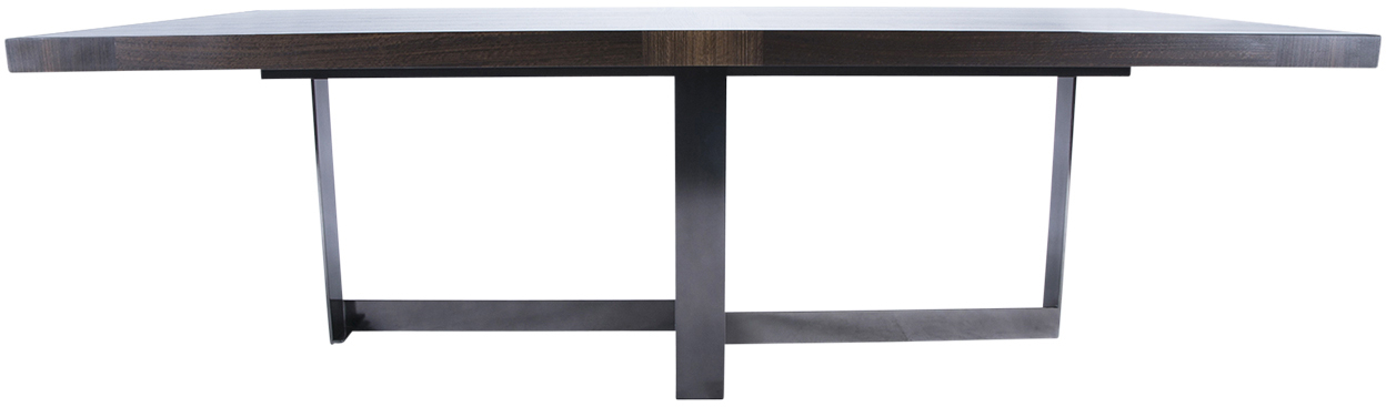 2018 Cross Base Dining Table Pertaining To Helms Round Dining Tables (View 2 of 20)