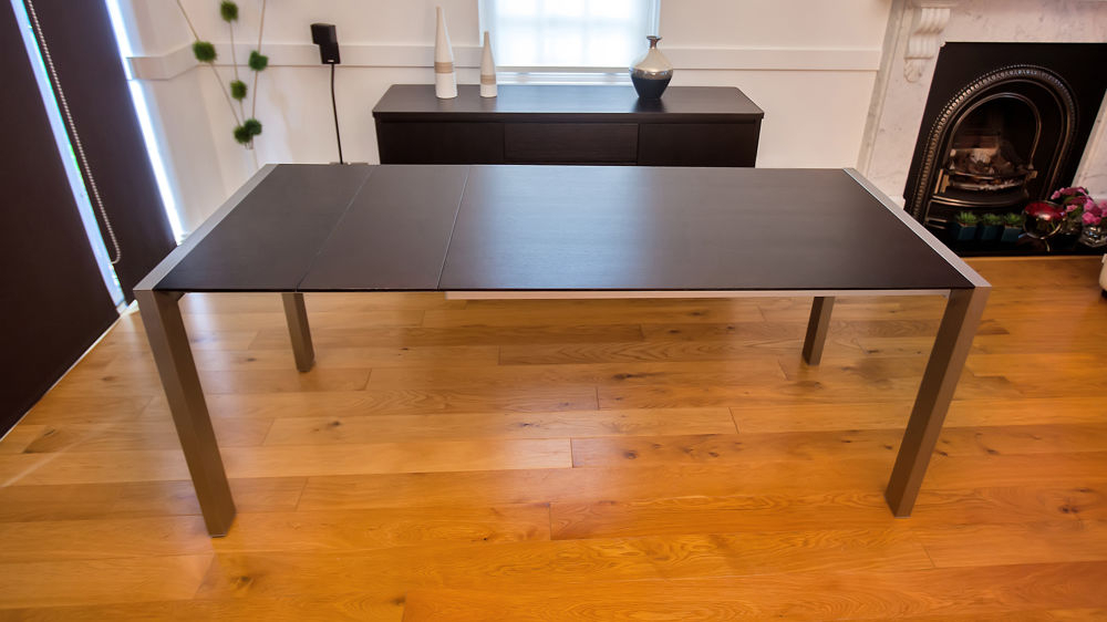 2018 Dark Wood Extending Dining Tables Throughout Wenge Dark Wood Extending Dining Table (View 1 of 20)