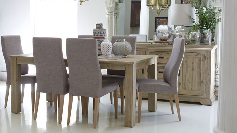2018 Dining Room Chairs Pertaining To Dining Tables & Chairs Sets – Round & Extendable (View 2 of 20)
