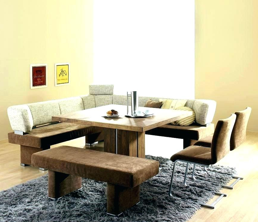 2018 Dining Table Bench Seat With Back – Modern Computer Desk Intended For Dining Tables Bench Seat With Back (Gallery 8 of 20)