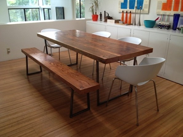 2018 Embrace The Relaxed Style Of Indoor Picnic Tables Inside Dining Room Regarding Indoor Picnic Style Dining Tables (View 4 of 20)