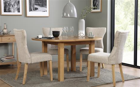2018 Extending Dining Table And Chairs Regarding Extendable Dining Table & Chairs – Extending Dining Sets (Gallery 16 of 20)