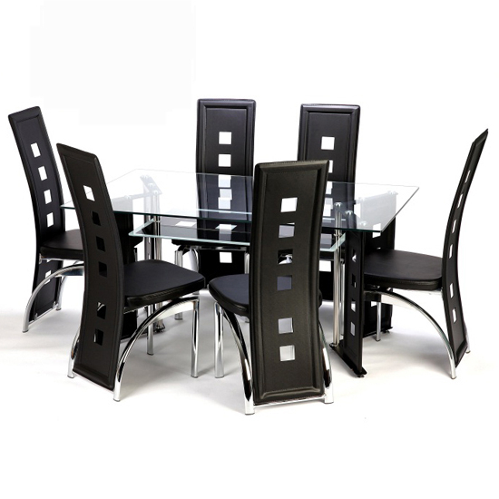 2018 Glass Or Wood, Whats Your Choice In Dining Furniture? With Regard To Glass Dining Tables With 6 Chairs (View 11 of 20)