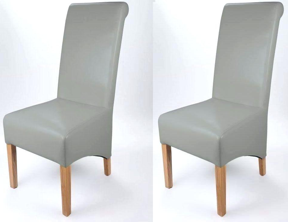 2018 Grey Leather Dining Chairs Regarding Gray Leather Dining Chair Grey Chair Grey Leather Dining Chairs (View 1 of 20)