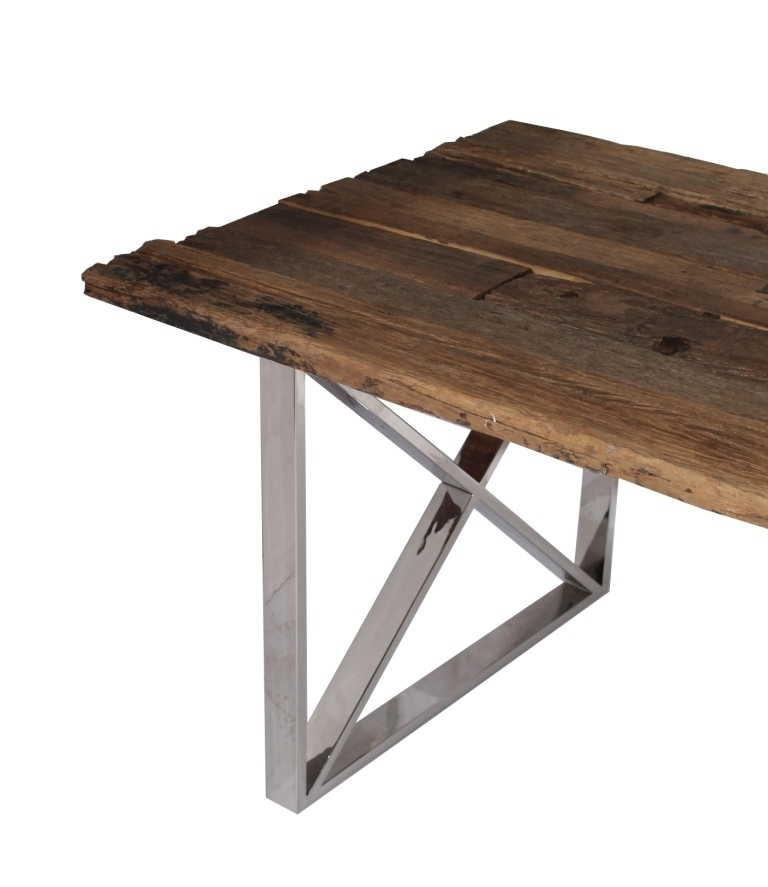 2018 Inr Sleeper Dining Table 160X90X76 – Tree Frog With Regard To Railway Dining Tables (View 2 of 20)