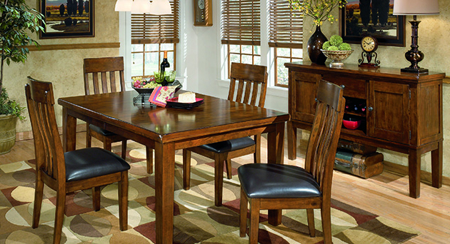 2018 Jaxon 5 Piece Extension Counter Sets With Wood Stools Regarding Dining Room Orleans Furniture (View 6 of 20)