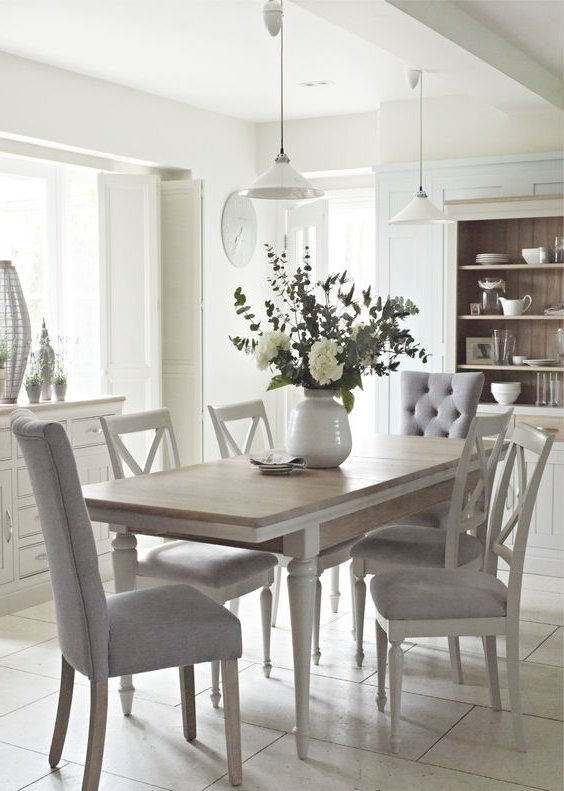 2018 Lassen 7 Piece Extension Rectangle Dining Sets With Regard To Pinsandra Reynolds On Dining At Its Best (View 2 of 20)