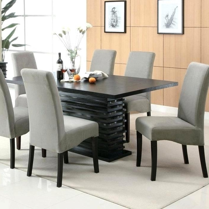 2018 Lovable Splendid Modern Kitchen Table Chair Design S Home Decor With Regard To Contemporary Dining Room Chairs (View 3 of 20)