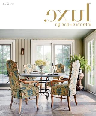 2018 Luxe Magazine Summer 2015 Chicagosandow® – Issuu Regarding Palazzo 7 Piece Dining Sets With Mindy Slipcovered Side Chairs (View 1 of 20)