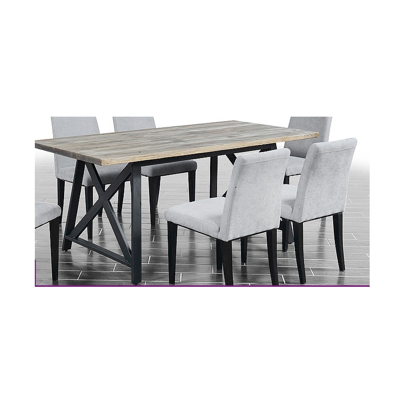 2018 Macie 5 Piece Round Dining Sets With Macy Metal Dining Set (Gallery 8 of 20)