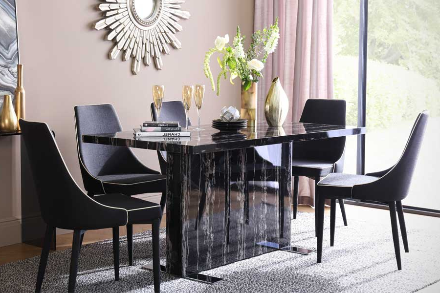 2018 Marble Dining Sets (View 7 of 20)