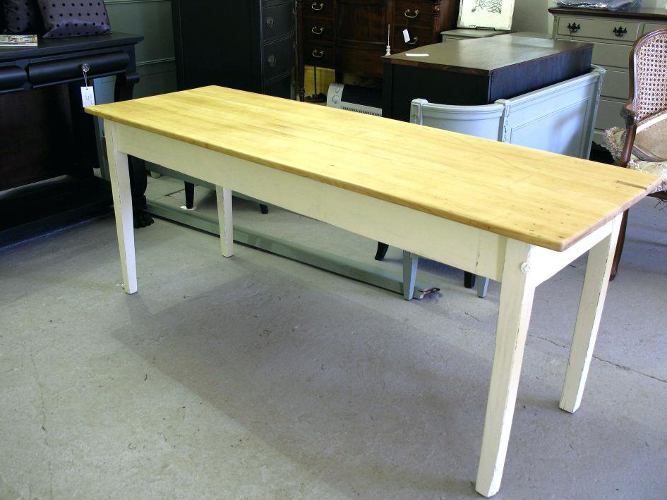 2018 Narrow Dining Table With Bench Furniture Narrow Dining Table With Regarding Narrow Dining Tables (View 3 of 20)
